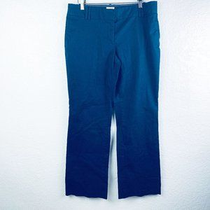 J Crew Womens Size 10 Navy Blue Chinos